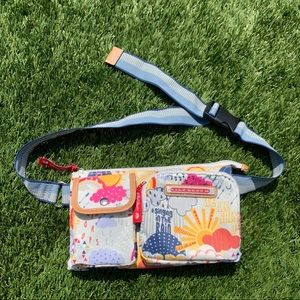 Lily Bloom sunshine and rain fanny pack